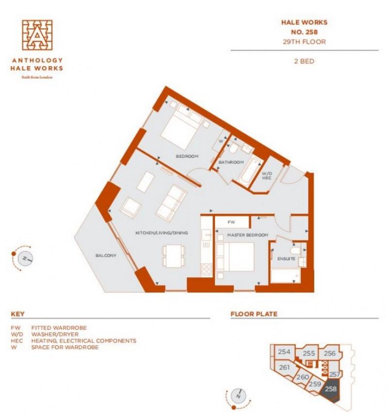【海阁置业】伦敦生态湖畔社区精品公寓Hale Works