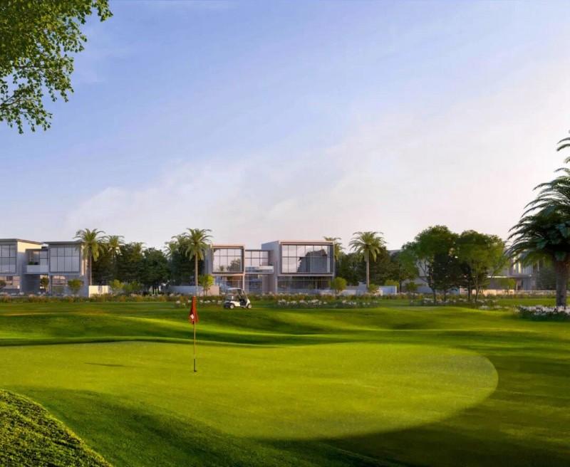 迪拜地产:迪拜山庄高尔夫球场独栋别墅 Golf Place