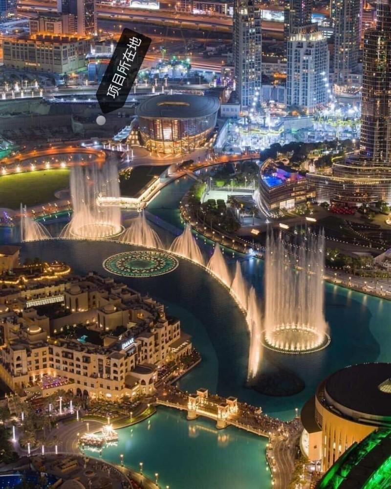 迪拜市中心楼王公寓Grande 格兰德大厦 Emaar开发,编号45300