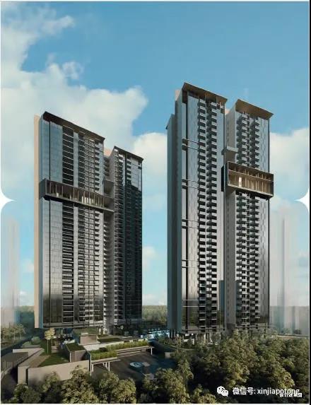 新加坡西海岸公寓-御峰,近裕廊商业区,市场上价格最便宜公寓之一