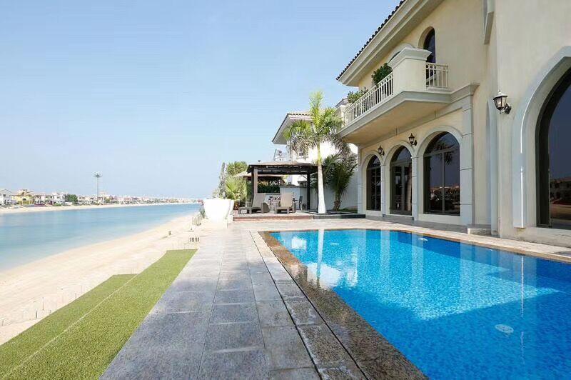 迪拜房产:迪拜棕榈岛别墅房源,仅800万RMB起