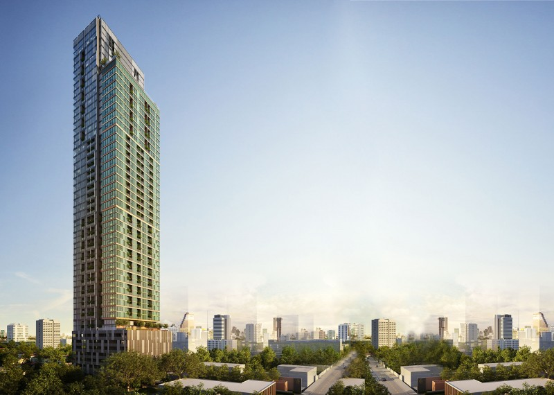 泰国曼谷TheLoftsSilom现房权贵是隆心脏仅19万起,编号23946