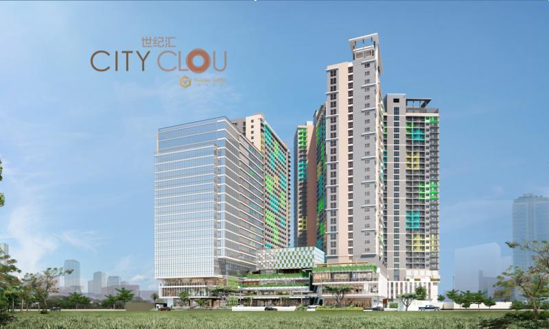 金昇-CITY CLOU世纪汇:宿务核心黄金商业区泛综合体
