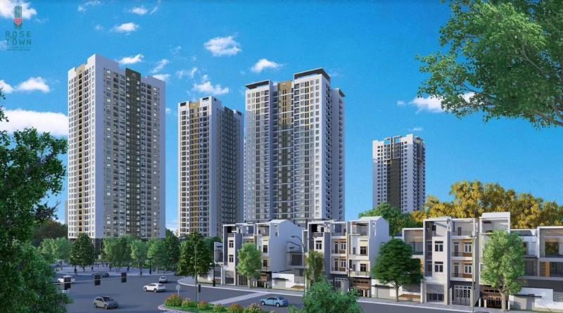 越南河内公寓ROSE TOWN 双地铁一线湖景房 -C户型 07