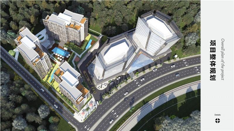伊斯坦布尔商务中心区林溪谷