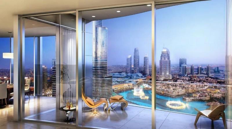 迪拜房产:迪拜市中心顶级豪宅IL Primo,最大音乐喷泉景