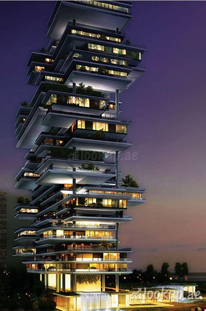 迪拜顶级海景公寓:空中花园复式公寓 One Palm,编号45959