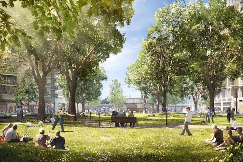 """南伦敦""""皮卡迪利"""" 一区最后价值洼地艾勒芬公园"""