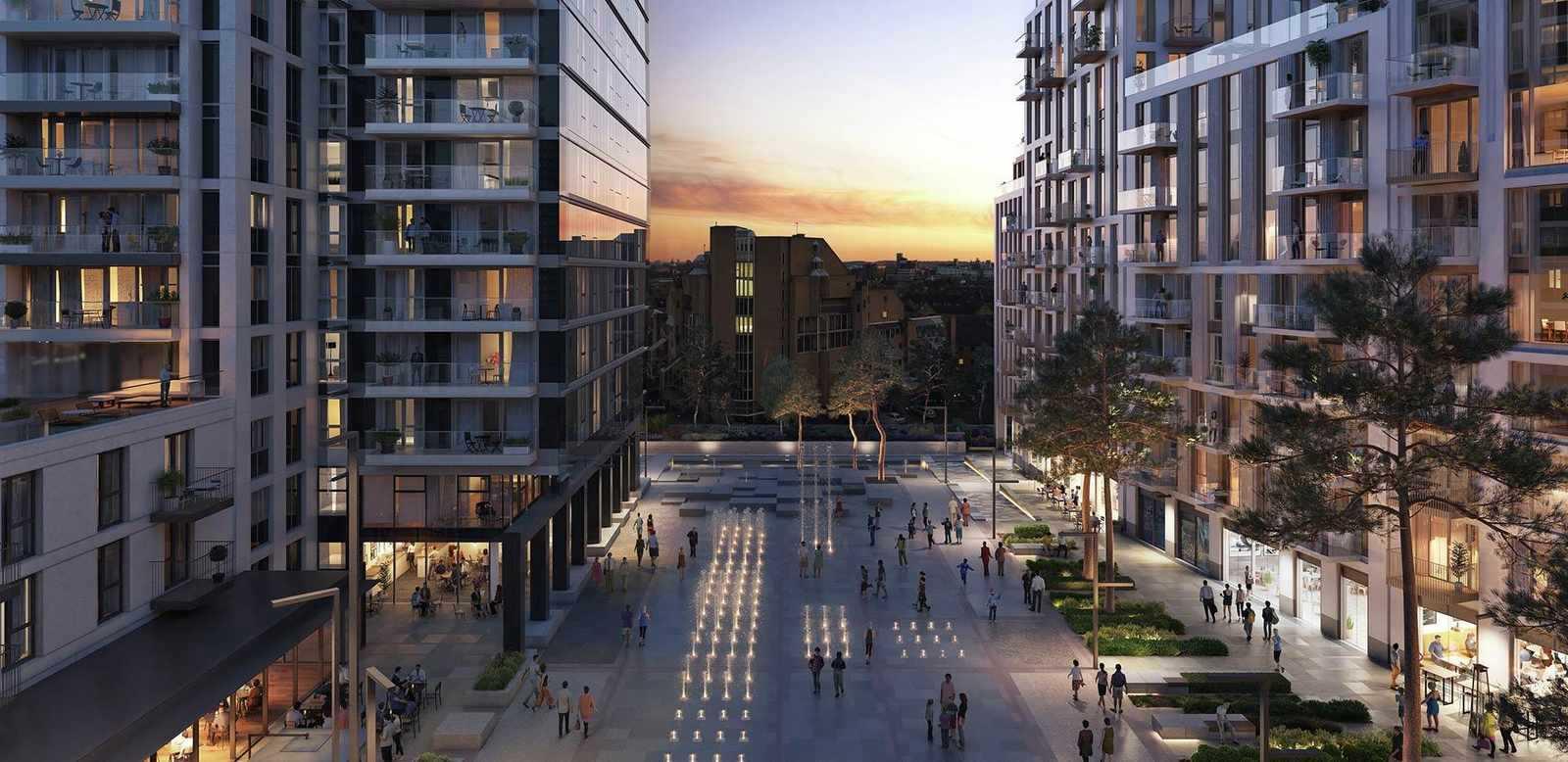 坐拥新老金融城比邻泰晤士河伦敦港