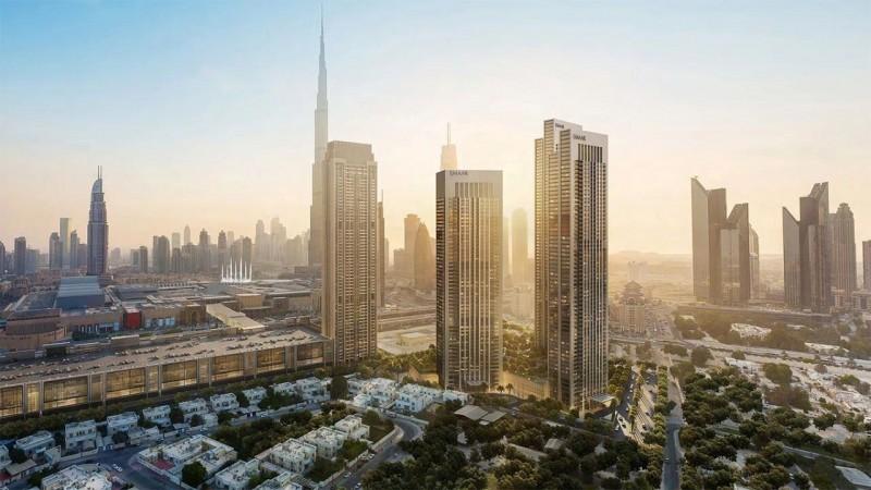迪拜市中心公寓:Downtown Views,世界最高塔景观