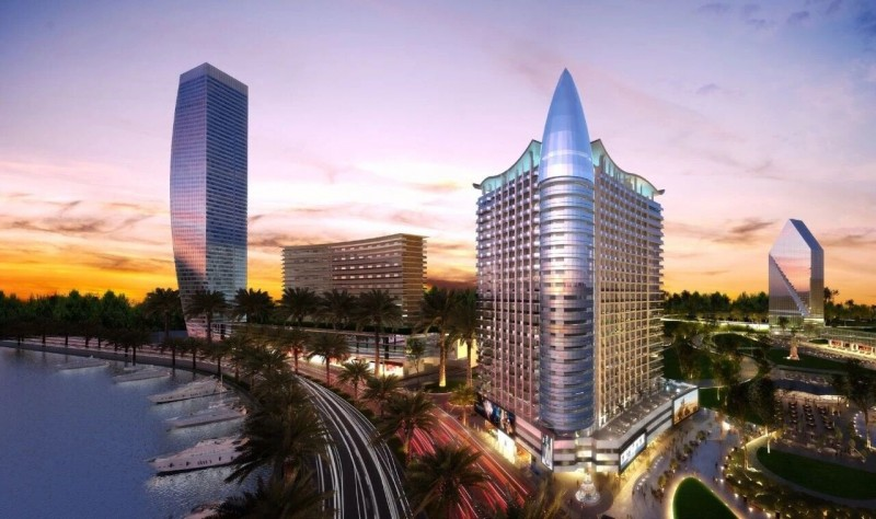 迪拜市中心运河景公寓AG Tower,3年24%租金回报保证