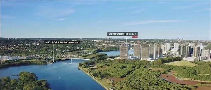悉尼第二个情人港Wentworth Point祥云湾水景豪宅