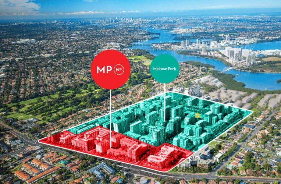 悉尼最大网红盘三期 Melrose Park,40万澳币起,编号46199