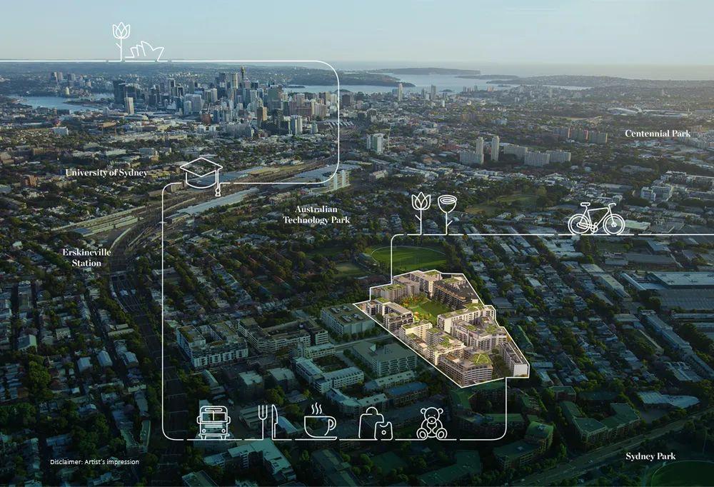 悉尼内城区的巅峰之作,享纯正悉尼Local生活,近悉尼大学