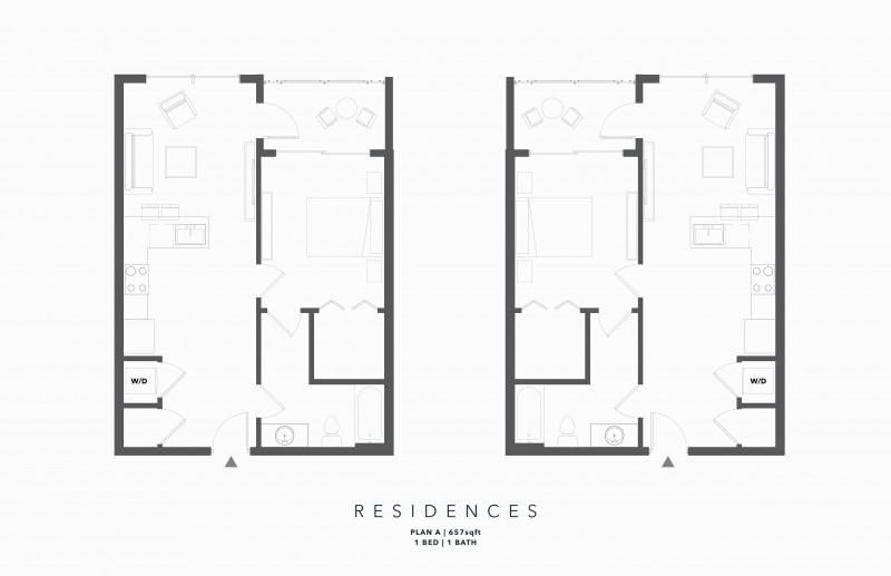 【海阁置业】亚特兰大市中心全新独立产权公寓 525 Park