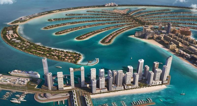 迪拜伊玛尔房产之王子岛区域分析,360度海景房