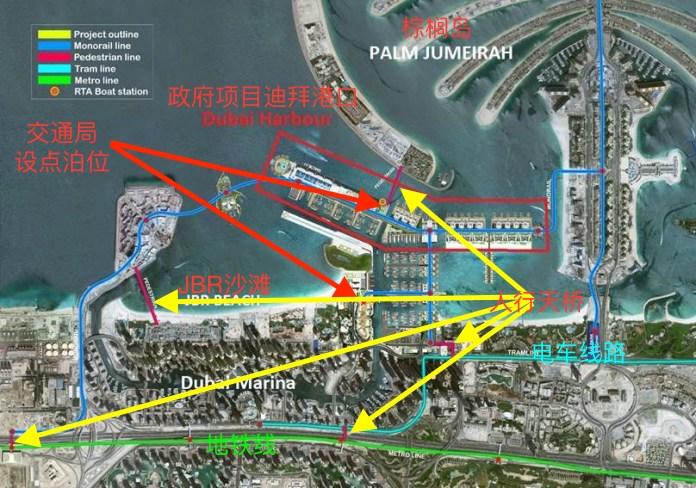 迪拜伊玛尔房产之王子岛区域分析,360度海景房,编号46349