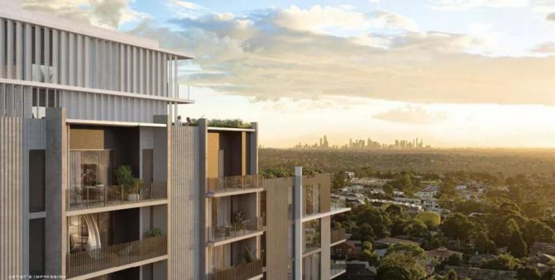 保利地产在墨尔本龙头区的现房公寓,超大面积购物中心正对面!