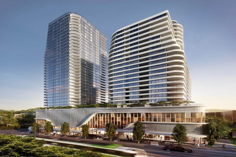 澳洲墨尔本华人区罕见商铺,超大型公寓项目楼下底商,人流如织!