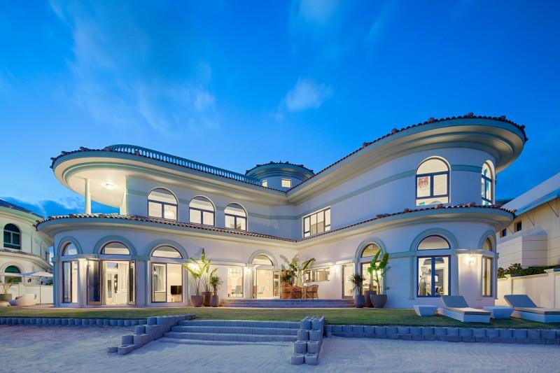 迪拜地产:世界最大人工棕榈岛,别墅房源,仅808万RMB起