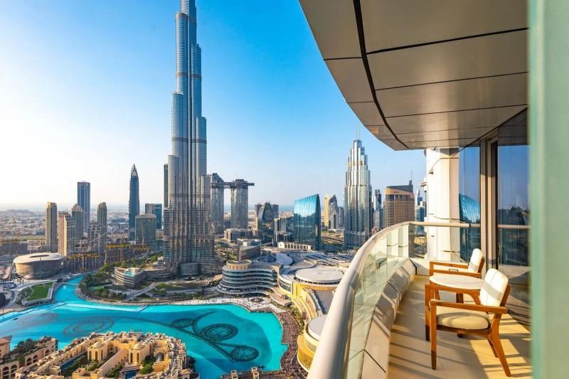 迪拜房产:世界最高塔哈利法塔,二手房房源