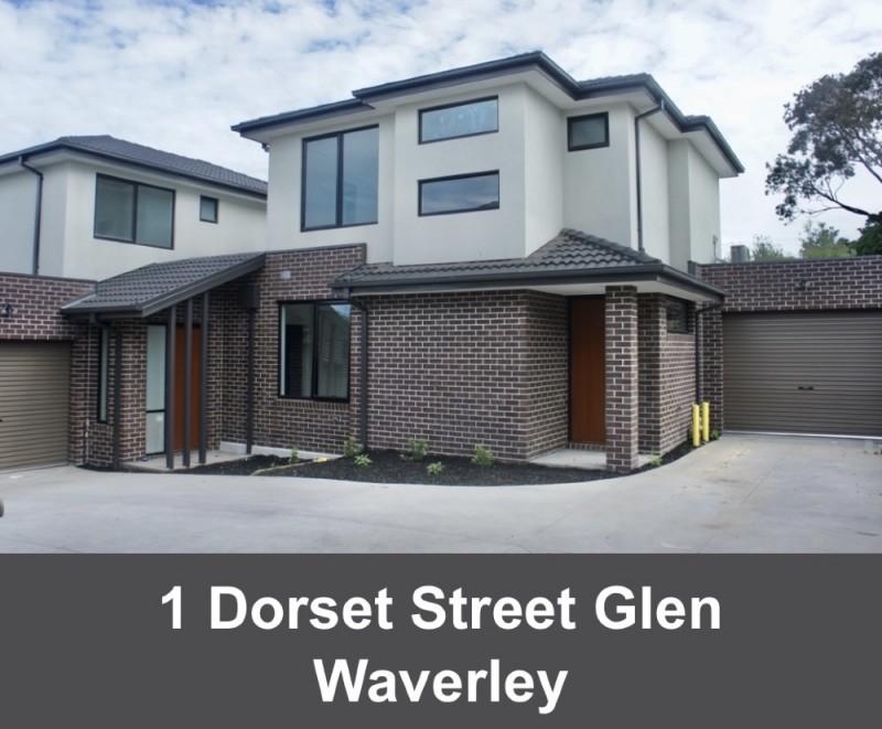 墨尔本东南华人区Glen Waverley全新联排别墅