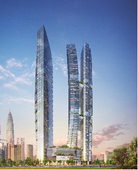 马来西亚吉隆坡KLCC高端品牌公寓8 Conlay-2+1房