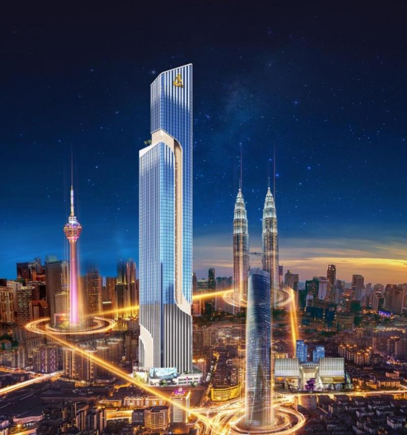马来西亚吉隆坡武吉免登黄金三角核心位置-云汇星光- 1房