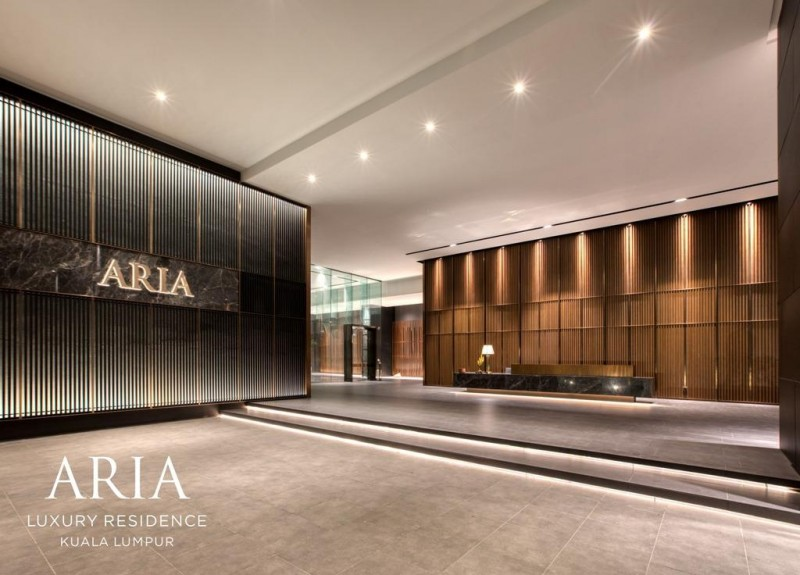 马来西亚吉隆坡KLCC高端奢华公寓ARIA雅乐华庭2+1房