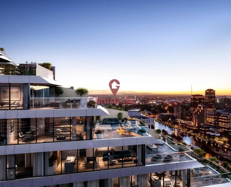 墨尔本金融街顶级尊享公寓Collins Arch