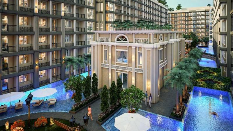 泰国芭提雅公寓年底交房 Dusit Grand Park二期