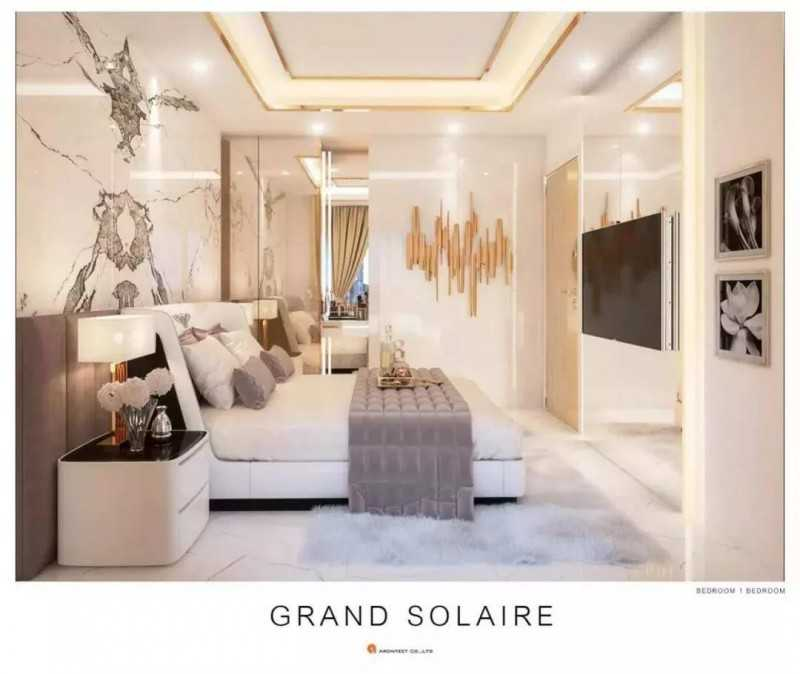 泰国芭提雅地标性公寓期房 Grand Solaire,编号46713