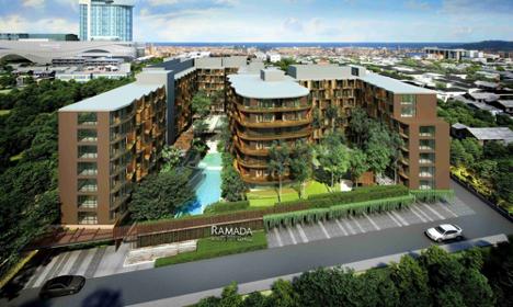 泰国芭提雅包租30年华美达酒店投资 Ramada Mira