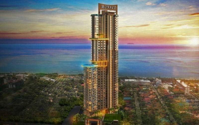 泰国芭提雅海边高端建设中的公寓Riviera Monaco