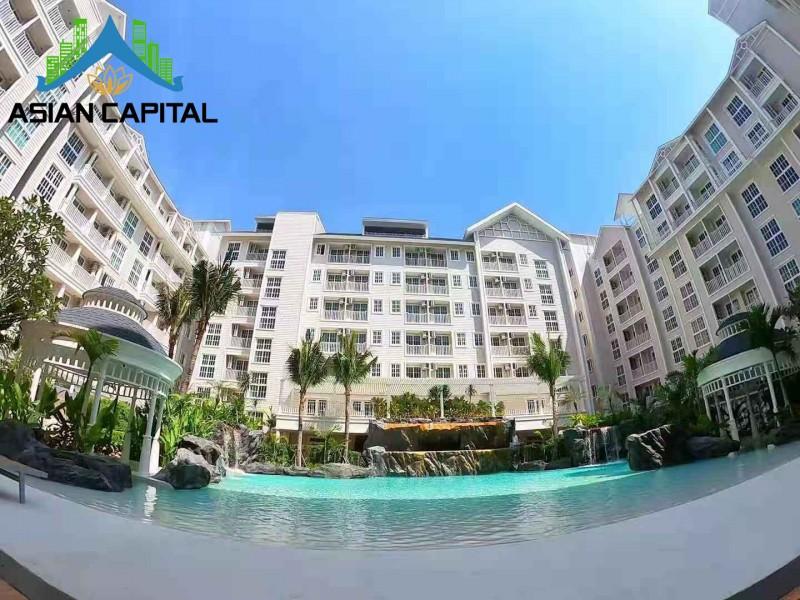 泰国芭提雅海边私家海滩现房包租公寓 现在送精装修