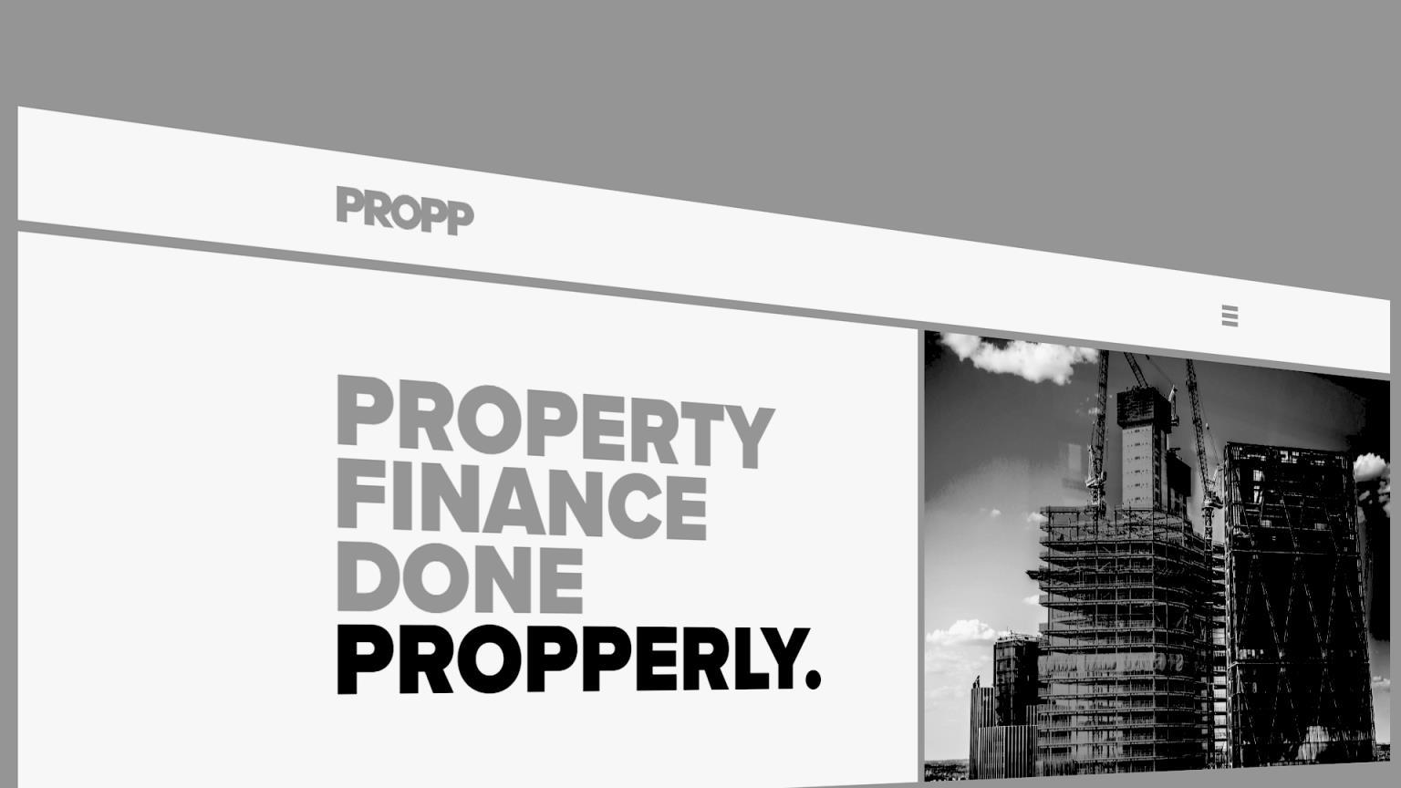 【英国房产新闻】Propp的推出将为英国专业的房地产金融市场带来无与伦比的透明度