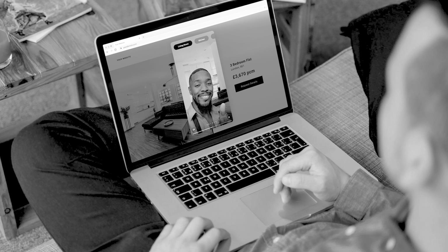 【英国房产新闻】代理商可以用新的应用程序拍摄虚拟旅行并嵌入到门户列表中