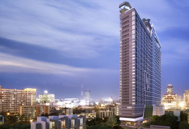 IDEO RAMA9-ASOKE铂金岛 曼谷双CBD交汇豪宅