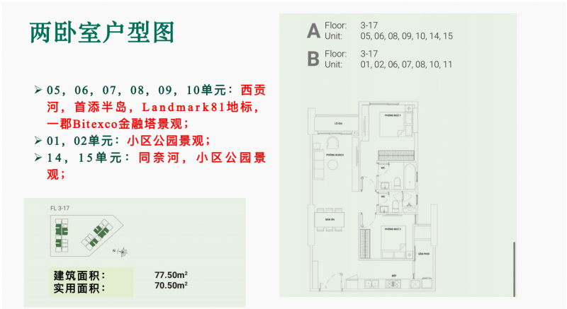 胡志明精装住宅公寓 Ascent Garden Homes