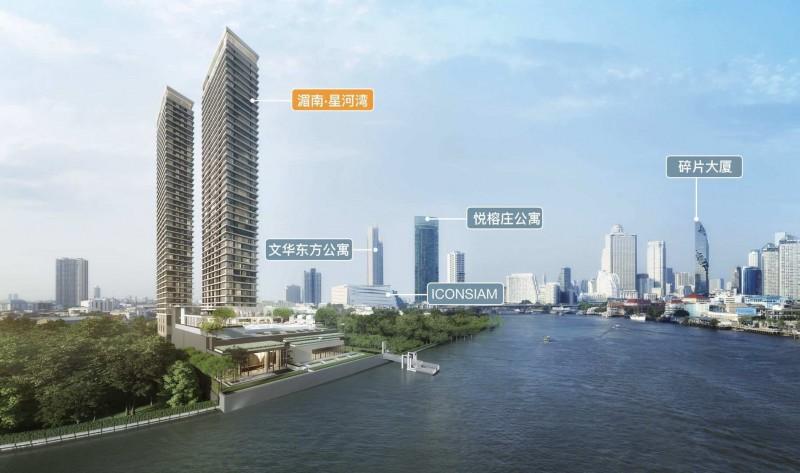 曼谷湄南星河湾小户型,编号47085