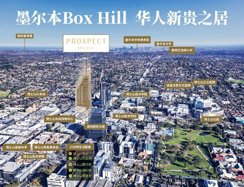 墨尔本Box Hill 华人新贵之居,编号47125