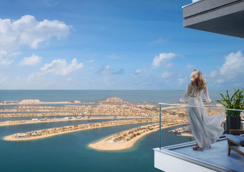 迪拜王子岛海景房 Elie Sabb品牌设计,朝向棕榈岛