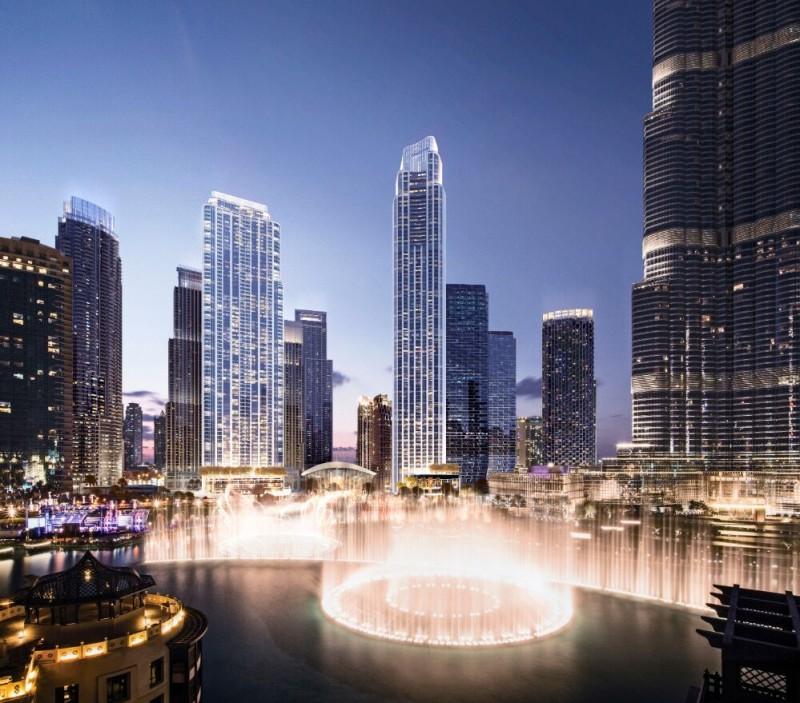 迪拜地产:迪拜市中心楼王,格兰德大厦,集3大世界之最景观一体