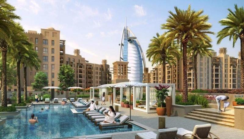 迪拜帆船酒店学区房,海景房,古堡公寓DP MJ Living