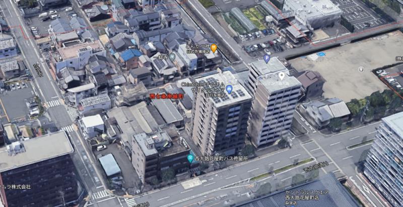 京都市中心酒店建筑土地