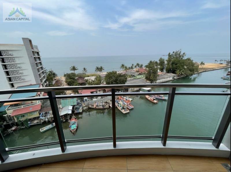 泰国芭提雅现房海景游艇码头公寓Whale Marina两居室,编号47423