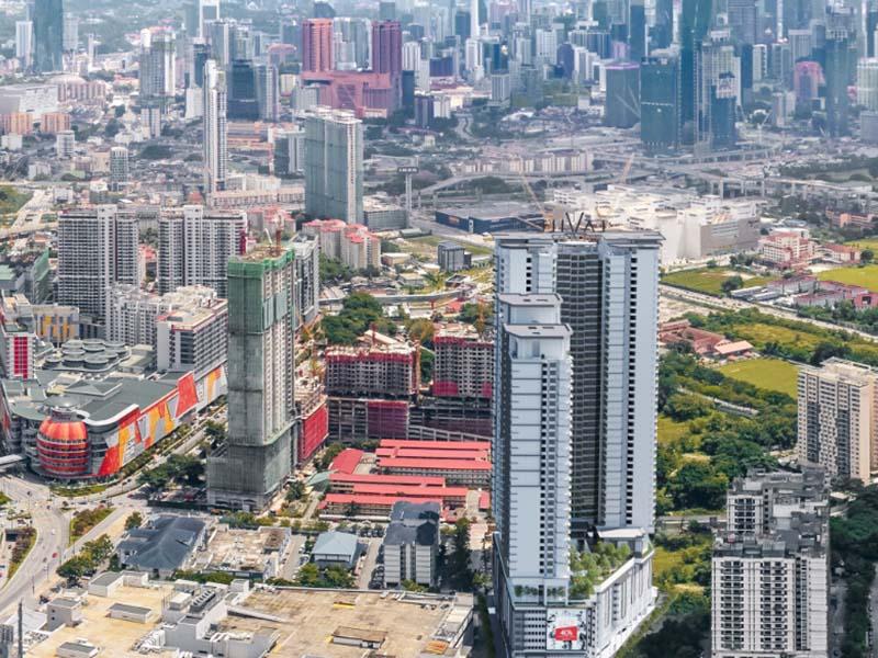 城景苑Lavile,吉隆坡市中心双轨交汇地铁房,编号47426