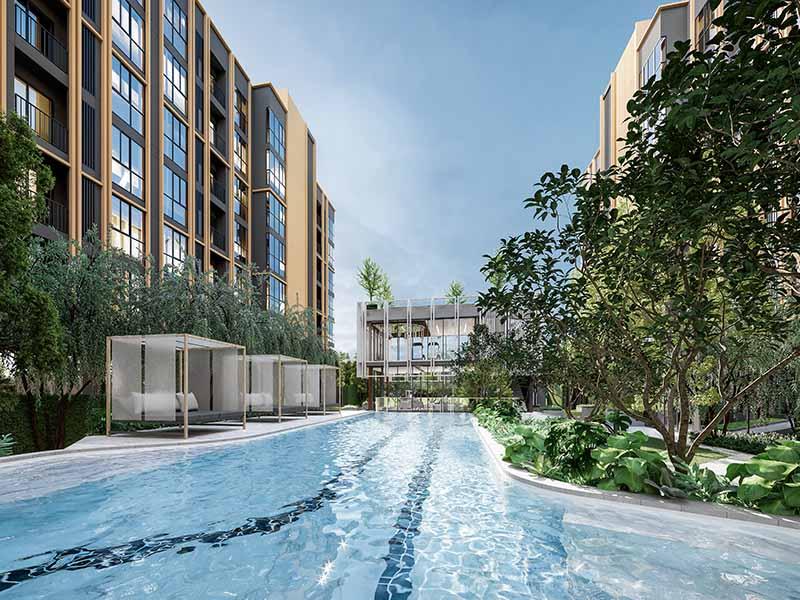 曼谷东部CBD住宅诺博东环 毗邻尚泰商场 诺博地产新年第一盘,编号47429
