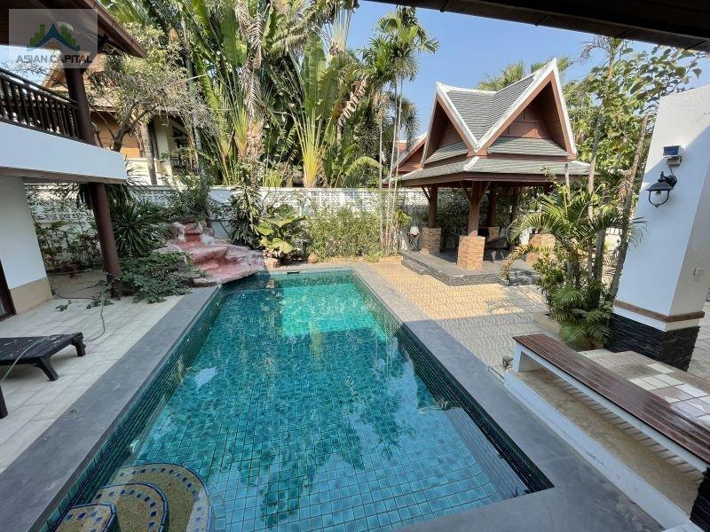 泰国芭提雅精装修泳池别墅Green Residence,编号47450