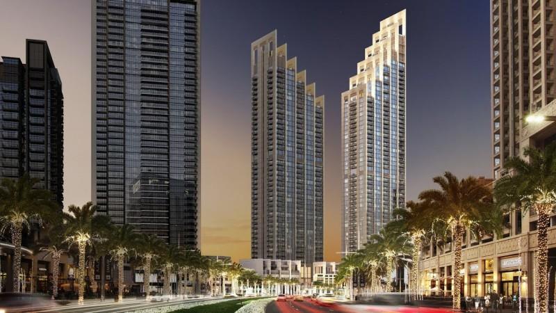 迪拜市中心商住两用房Blvd Heights毗邻3大世界之最